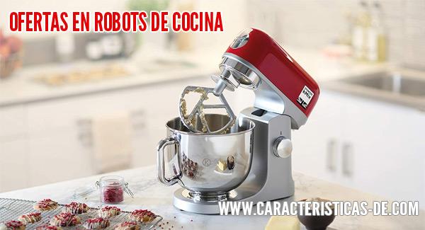 Ofertas en robots de cocina