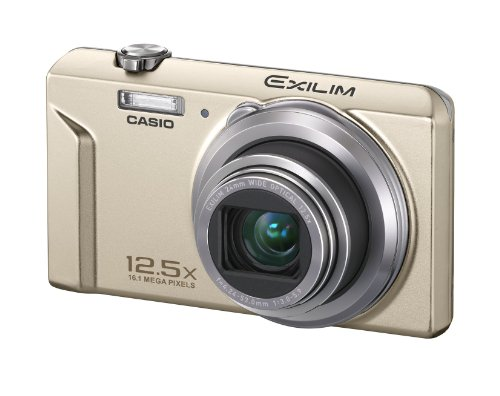 Imagen principal de Casio Exilim EX-ZS150 - Cámara Digital 16.1 Megapíxeles, Beige