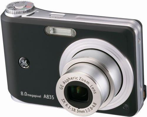 Imagen principal de GE A 835 - Cámara compacta de 8 MP (Pantalla de 2.5, Zoom óptico 3X)