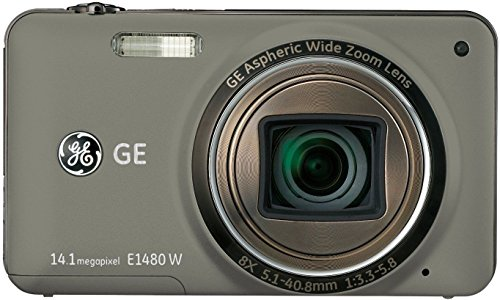 Imagen principal de GE E1480W - Cámara compacta de 14 MP (Pantalla de 3, Zoom óptico 8X,