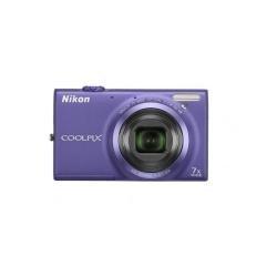 Imagen principal de Kit Nikon S6150 - fotocámara digital Coolpix (Estuche + SD 4GB), colo