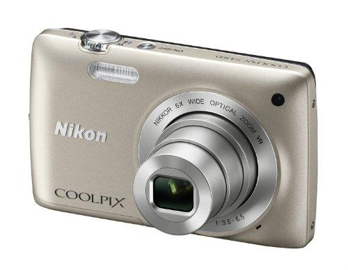 Imagen principal de Nikon Foto.Dig.S4300 16Mp 6X. Silver Lcd 3 .3200Iso.Ob.26-156.Stabiliz