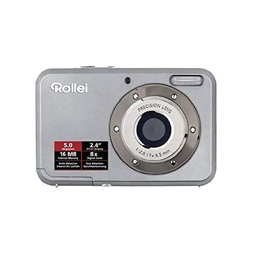 Imagen principal de Rollei Compactline 52 - Cámara Digital Compacta, 5 MP (2.4 Pulgadas,