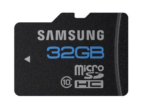 Imagen principal de SAMSUNG MB-MSBGAEU - Tarjeta Micro SD de 32 GB (Clase 10) Negro
