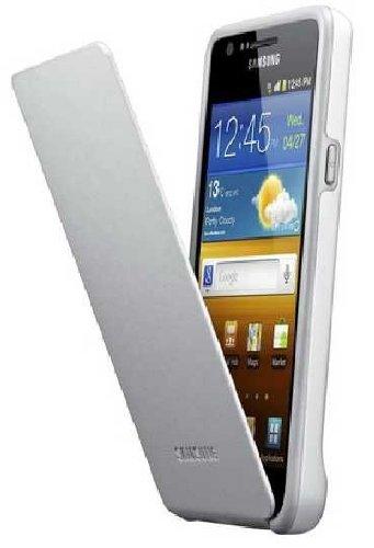 Imagen principal de Samsung EF-C1A2WGEC - Funda tapa, color gris y blanco