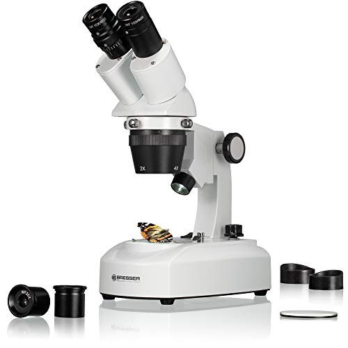 Imagen principal de Bresser 5803100 Researcher ICD LED 20x-80x Microscopio, blanco
