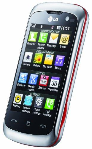 Imagen principal de LG KM570 - Móvil libre (pantalla táctil de 3 240 x 400, 4 GB de capa