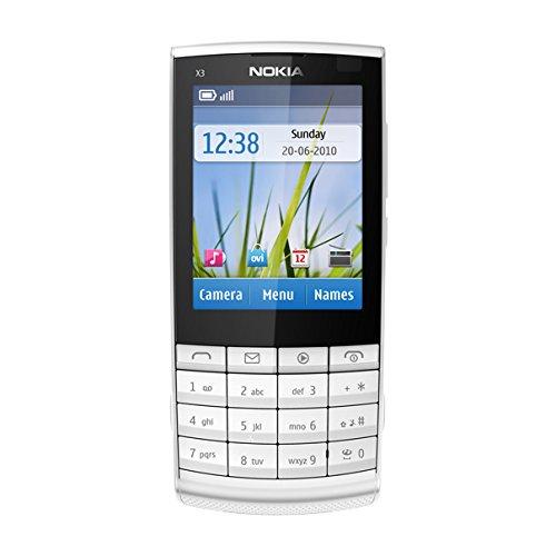 Imagen principal de Nokia X3/02 Silver Touch and Type - Móvil libre (pantalla de 2,4 240