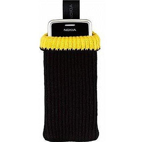 Imagen principal de Nokia NOCP221N - Funda para smartphone universal, color negro y amaril