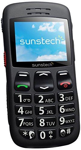 Imagen principal de Sunstech CEL1BK - Teléfono móvil (pantalla 2, 1000 mAh, FM, linterna