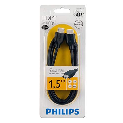 Imagen principal de Philips SWV2432W/10 - Cable HDMI (1.5 metros), negro