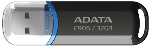 Imagen principal de ADATA 32GB C906 32GB USB 2.0 Capacity Negro Unidad Flash USB - Memoria