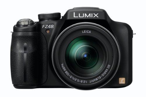 Imagen principal de Panasonic Lumix DMC-FZ48EG-K - Cámara digital (Zoom 24x, vídeo Full