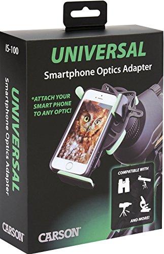 Imagen principal de Carson HookUpz - Adaptador óptico universal de digiscoping para smart