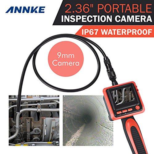 Imagen principal de ANNKE® Endoscopio Cámara 2.36 pulgadas LED Inspección Cámara resol