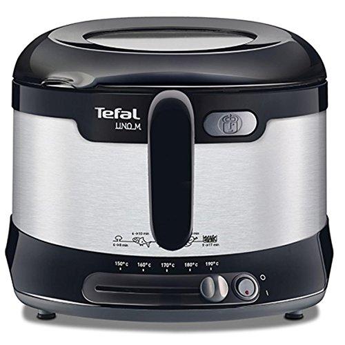 Imagen principal de Tefal FF133D10 - Freidora (1 kg, Solo, Negro, Acero inoxidable, 1600 W