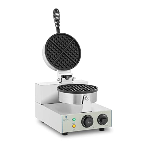 Imagen principal de Royal Catering - RCWM-1300-R - Gofrera - 1 x 1.300 Watt - redonda