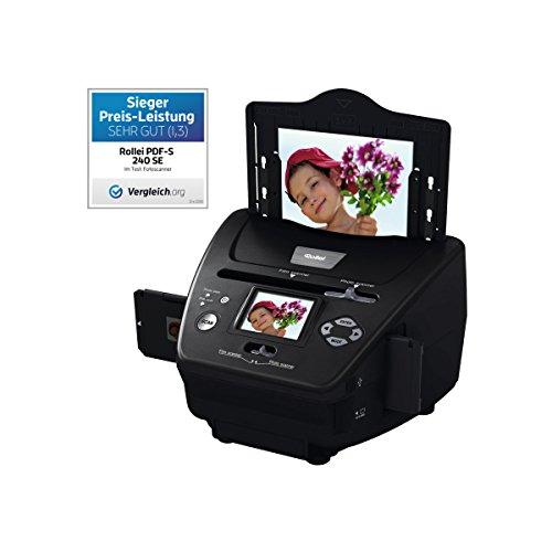 Imagen principal de Rollei PDF-S 240 SE - Multi escáner de 5,1 megapíxeles para diaposit