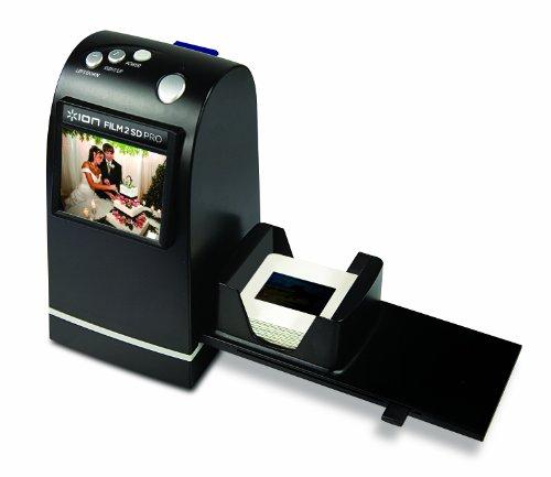 Imagen principal de ION Audio Film2SD Pro Film/Slide Scanner Negro - Escáner (Film/Slide
