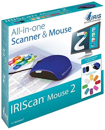 Imagen principal de I.R.I.S. IRISCan Mouse 2 - Escáner (300 x 300 dpi, Ratón, Azul, BMP,