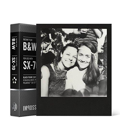 Imagen principal de Imposible 4.162,0 película instantánea Polaroid SX 70 para la cámar