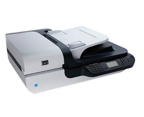 Imagen principal de HP Scanjet N6350 Networked Document Flatbed Scanner - Escáner