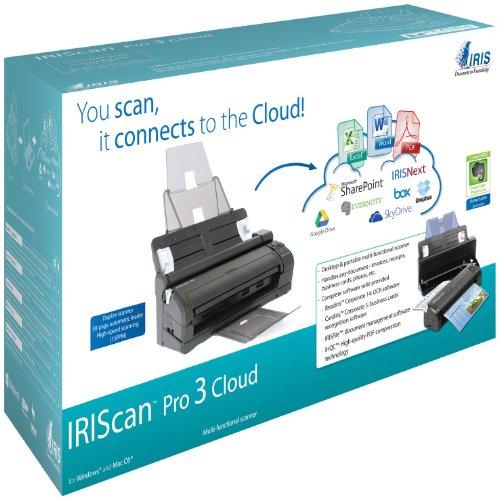 Imagen principal de I.R.I.S. IRISCan Pro 3 Cloud - Escáner de Documentos (600dpi, Duplex-