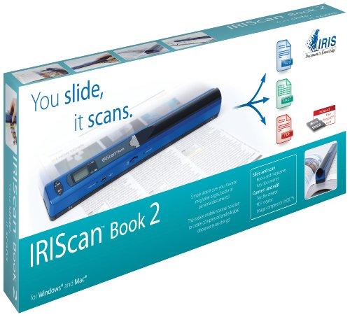Imagen principal de IRIS IRISCan Book 2 - Escáner de Documentos portátil (A4, USB), Azul