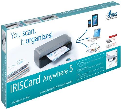 Imagen principal de IRIS Card Anywhere 5 ? Mini escáner Tarjetas de Visita portátil pequ