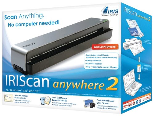 Imagen principal de Irisscan Anywhere 2 - Mobile A4 Scanner (PC/Mac)