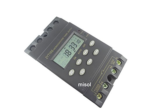 Imagen principal de MISOL 1 unit of 220V Timer Switch Timer Controller LCD display,program