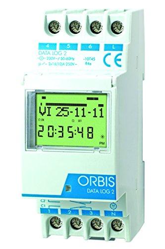 Imagen principal de Orbis Data Log 2 230 V Interruptor horario Digital de Distribuidor, OB