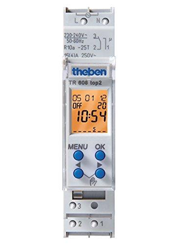 Imagen principal de Theben TR 608 TOP2 - Interruptor horario Digital