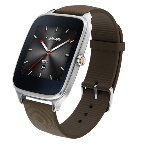 Imagen principal de ASUS Zenwatch 2 - Reloj de Pulsera, 49mm, Silicona, Color Gris Topo