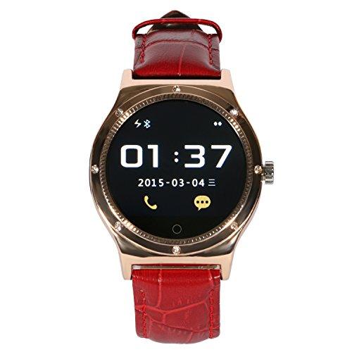 Imagen principal de EasySMX R11S Bluetooth Inteligente Reloj de Correa de Cuero y la Bater