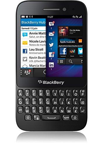 Imagen principal de Blackberry Q5 -Smaphone, Orange Libre, Teclado AZERTY, Color Negro