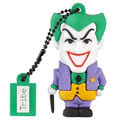 Imagen principal de Tribe Warner Bros DC Comics Joker - Memoria USB 2.0 de 16 GB Pendrive