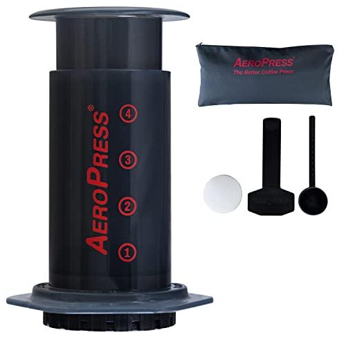 Imagen principal de Aerobie AeroPress - Cafetera a presión para cafés y expresos (Incluy