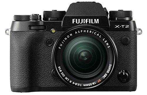 Imagen principal de Fujifilm X-T2 - Cámara sin espejo de 24,3 MP (pantalla LCD de 3, APS-