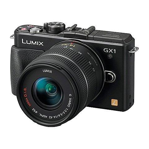 Imagen principal de Panasonic DMC-GX1KEC-K - Cámara compacta de 16.0 Megapixels (Pantalla