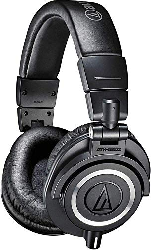 Imagen principal de Audio-Técnica ATH-M50x - Auriculares para DJ, color negro