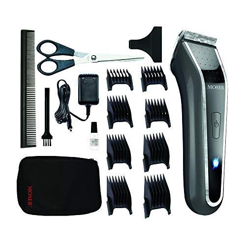 Imagen principal de Wahl Lithium Pro LED Recargable Gris, Acero inoxidable - Afeitadora (G