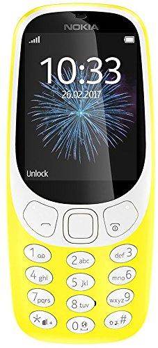 Imagen principal de Nokia 3310a00028301Single SIM, Teléfono móvil Retro Amarillo
