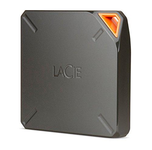 Imagen principal de LaCie Fuel - Disco Duro inalámbrico 1 TB (USB 3.0), Color Gris