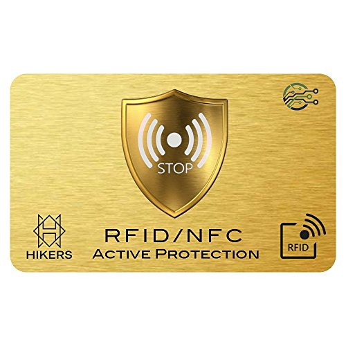 Imagen principal de Tarjeta Anti RFID/NFC Protector de Tarjetas de crédito sin Contacto,