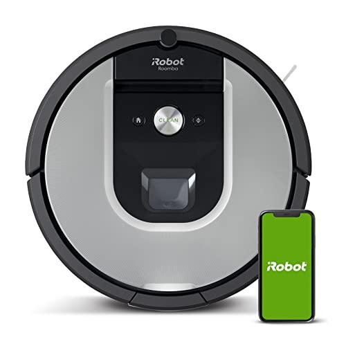 Imagen principal de iRobot Roomba 960 Robot Aspirador, Succión 5 Veces Superior, Cepillos