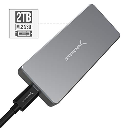Imagen principal de Sabrent SSD Externo de Aluminio Rocket Pro 2TB NVMe USB 3.1 [hasta 100