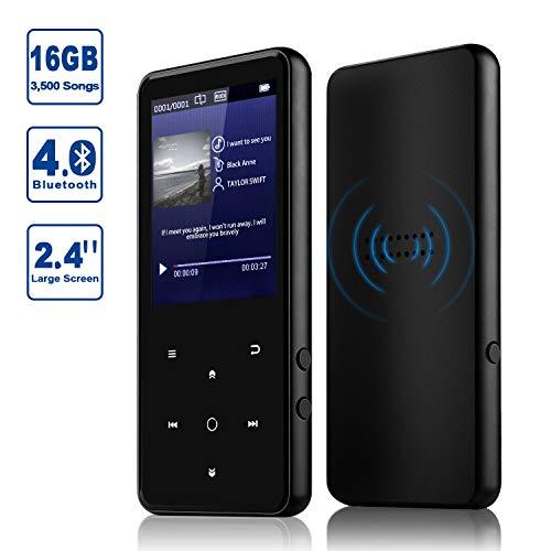 Imagen principal de Reproductor 16GB MP3 Bluetooth 4.0 con Clip Reproductor de Música par