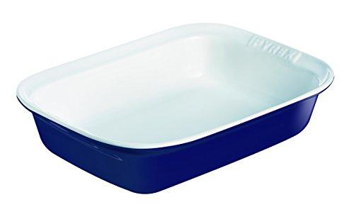 Imagen principal de Pyrex Impressions Blue White - Fuente Rectangular, 33 x 24 cm, Color A