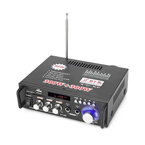 Imagen principal de docooler 12 V/220V Mini Amplificador Audio Bluetooth,HiFi Audio Estér